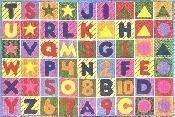 Area Carpet Rug - Colorful Numbers and Letters - Home Decor 39 X 58 by Fun Time Carpets. $94.99. Item Attributes Country of Origin: Egypt Material/Machine Made: 100% Nylon primary color: multi-color Size: 39x58. Save 41%!