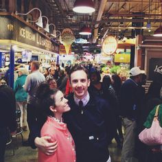 Reading Terminal Market with @tiesandfries. #philly