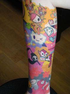 kawaii tattoo sleeve - Google Search