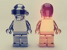 Daft Punk Lego Model  Free Download On http://ww.fliso-cinema-4d.blogspot.de   And one Thank-you to Greyscale-Gorilla !