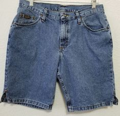 "Riders - Women's Jean Shorts - Size 14 Med (9"" Inseam) Blue Denim Pants #Riders #JeanShorts ..... Visit all of our online locations.....  www.stores.eBay.com/variety-on-a-budget .....  www.stores.ebay.com/ourfamilygeneralstore .....  www.etsy.com/shop/VarietyonaBudget .....  www.bonanza.com/booths/VarietyonaBudget .....  www.facebook.com/VarietyonaBudgetOnlineShopping"