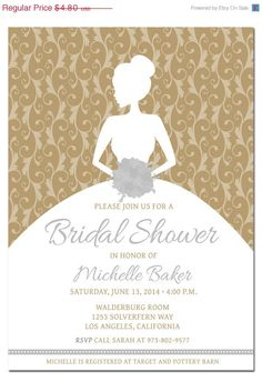 free bridal shower invitation templates | free wedding shower ...