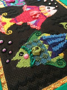 It's not your Grandmother's Needlepoint: To Catch A Fish!