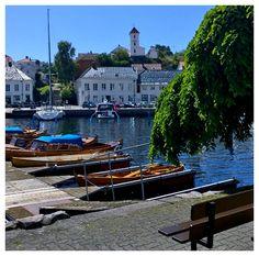 Risør, Norway Land Of Midnight Sun, Beautiful Norway, Aurora Borealis, Bergen, Street Art, Places To Visit, Nature, Travel, Norway