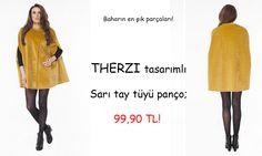 Therzi tasarım satı tüylü panço! #fashion #tasarım #panço #sonbahar #moda #style #therzi