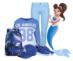 """triton's daughters: aquata"" by colormysketches ❤ liked on Polyvore"