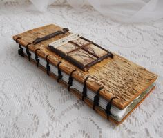 Birch Tree Journal Natural Art Handmade