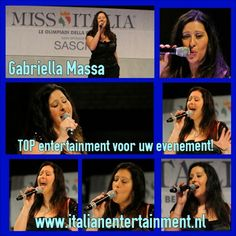 Gabriella Massa - TOP entertainment voor uw evenement! Te boeken bij Italian Entertainment And More Web Instagram User » Followgram
