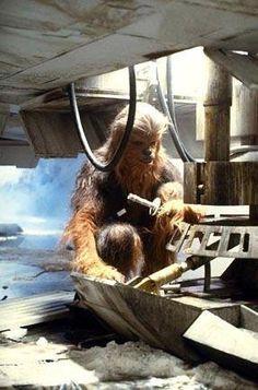 Chewbacca doing repa
