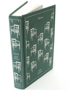 Emma, Jane Austen, Penguin Clothbound Classics <-- @Ashley Walters McNutt Still laughing at the chairs, but it's beautiful <3