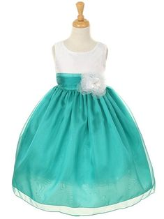 Trend Mark Flower Girl Dress Ball Gowns Kids Dresses For Girls Party Princess Girl Clothes For 4 5 6 7 8 9 Year Birthday Dress For Children Drip-Dry Mother & Kids Dresses