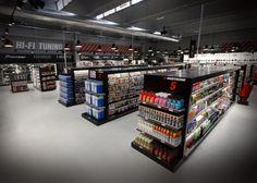 #shelving #retailfurnishing #gdo #electronicstore #F25