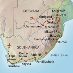 Top 5 stops on the Garden Route in South Africa Durban South Africa, South Afrika, Kenya, African Holidays, Port Elizabeth, African Safari, Africa Travel, Business Travel, Trip Planning