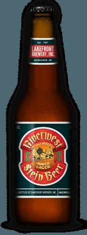 Riverwest Stein Bottle   LakeFront Brewery