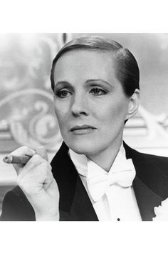 Julie Andrews in Victor Victoria by Blake Edwards.