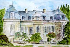 Château du Mesnil à Juziers (Yvelines) où séjourna Berthe Morisot et surtout sa fille Julie. Cette demeure est toujours habitée aujourd'hui par les descendants de l'artiste (la famille Rouard)