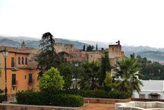 La Alhambra desde el Huerto de Carlos