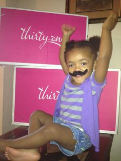 I mustache you a question?  Do you like to party!!!  I <3 my Thirty One mascot!!