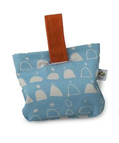 Eco-Pup Walk Time Bag Holder with Rain Walk print, 3.75' x 4', Orange * Find out more about the great product at the image link. (This is an Amazon affiliate link)