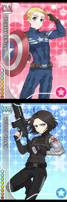 Eeeeek!!! That's the cutest Bucky ever!!!!!❤️❤️❤️❤️❤️❤️<<<*cough* Winter soldier *cough*