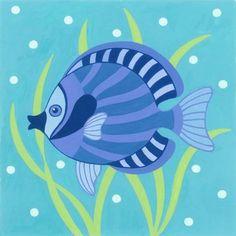 FISH * Tole Painting, Pottery Painting, Tiki Bar Signs, Fish Clipart, Ceramic Fish, Fish Patterns, Little Fish, Nautical Art, Sea Theme