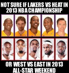 #Lakers vs. #Heat. Might be wishful thinking about the Lakers, but the season is still young