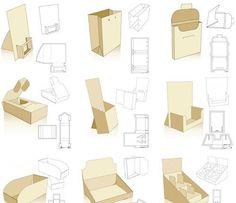 Moldes e ideas para packaging – Puerto Pixel   Recursos de Diseño