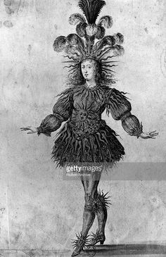 From  a rare drawing made in 1653.   (Photo by Hulton Archive/Getty Images)