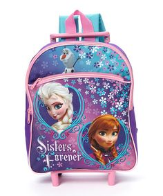 Another great find on #zulily! Frozen Rolling Backpack by Frozen #zulilyfinds $14.99, regular 22.00