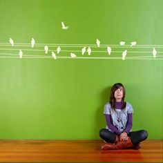 Wall Decals - birds wall stickers