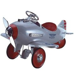 Classic Pedal Airplane - U.S. Patrol
