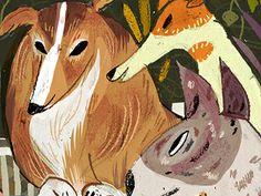 Meg Hunt's illustrations