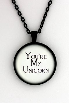 You're My Unicorn Meg Masters Castiel from Supernatural Quote Pendant Necklace Keychain Keyring Key Ring Super Natural Fandom Jewelry Supernatural Cosplay, Supernatural Bloopers, Supernatural Tattoo, Supernatural Wallpaper, Supernatural Quotes, Supernatural Fandom, Castiel, Unicorn Quotes, Fandom Jewelry