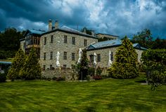 Mansion in Nymfaio Macedonia, Greece, Mansions, Country, Architecture, House Styles, Travel, Home Decor, Greece Country