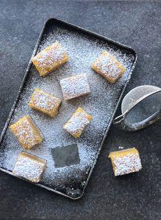 paleo nut-free lemon bars made with Otto's Naturals Cassava Flour