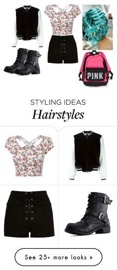 """""""Going to school 2016 in style"""" by bubble-loves-you on Polyvore featuring N°21, River Island, women's clothing, women's fashion, women, female, woman, misses and juniors"""