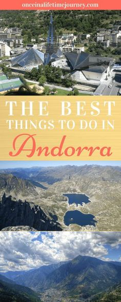 Wondering whether to visit Andorra from Barcelona? Here's my list of exciting things to do in Andorra which should make your decision easy. Europe Travel Tips, Spain Travel, European Travel, Travel Guides, Travel Destinations, Euro Travel, Travelling Europe, Travel Advice, Traveling