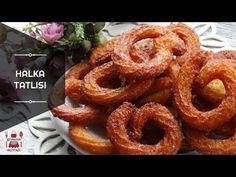 Çıtır Çıtır Ev Yapımı Halka Tatlısı nasıl yapılır? Çıtır Çıtır Ev Yapımı Halka Tatlısı Tarifi için malzeme listesi, kalori bilgisi, detaylı anlatımı, tarife ait fotoğraf ve yapılış videosu için tıklayınız. (650 kalori) Gönderen: Şeyma'nın Mutfağı Onion Rings, Ethnic Recipes, Desserts, Food, Meal, Deserts, Essen, Hoods, Dessert