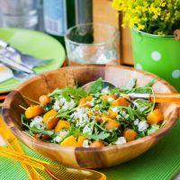 Warm Roasted Squash Salad