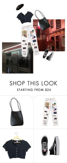 """""""Untitled #333"""" by leakylungs ❤ liked on Polyvore featuring Vans and Yves Saint Laurent"""