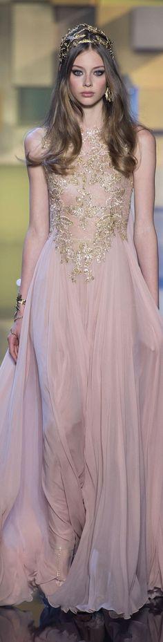 Elie Saab FW 2015 couture stylebistro.com