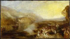 turner paintings tate | Joseph Mallord William Turner, 'The Opening of the Wallhalla, 1842 ...