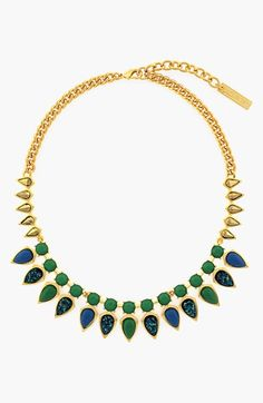 Vince+Camuto+Stone+Frontal+Necklace+available+at+#Nordstrom