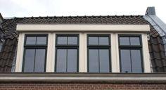 voorbeeld nostalgische dakkapel Dutch House, Sweet Home, Windows, House Beautiful, Ramen, Window