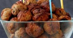 Food for thought: Fluffy meatballs oven Greek Recipes, Meat Recipes, Cooking Recipes, Greek Cooking, Cooking Time, Greek Appetizers, The Kitchen Food Network, Minced Meat Recipe, International Recipes