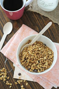 Pumpkin Spice Latte Granola - Cookie Monster Cooking