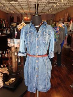 Denim Dress, $54.00