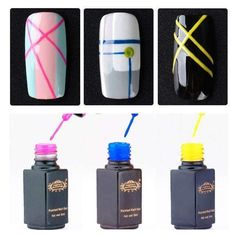 Perfect Summer Nail Gel Polish Painted Dotting Tool Diy Nail Art Decoration Drawing Pen Nail Gel Liner Pick Any 3 Colors