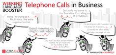 Weekend Language Booster | Telephone Calls | Zebra Academy | Business English | Native Speaker | Warszawa | English Grammar