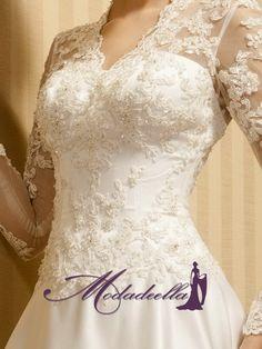 2013 vestidos de novia,vestidos novia modernos,vestidos elegantes para novia   http://www.modadeella.com/mangas-largas-vestido-elegante-de-novia-con-encaje-mew1226-p-1226.html